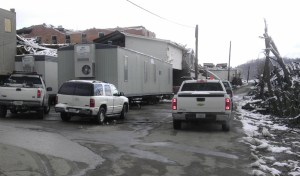 temporary portable buildings for disaster relief