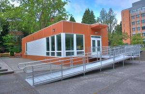 Tempoary Modular Dining Pavilion