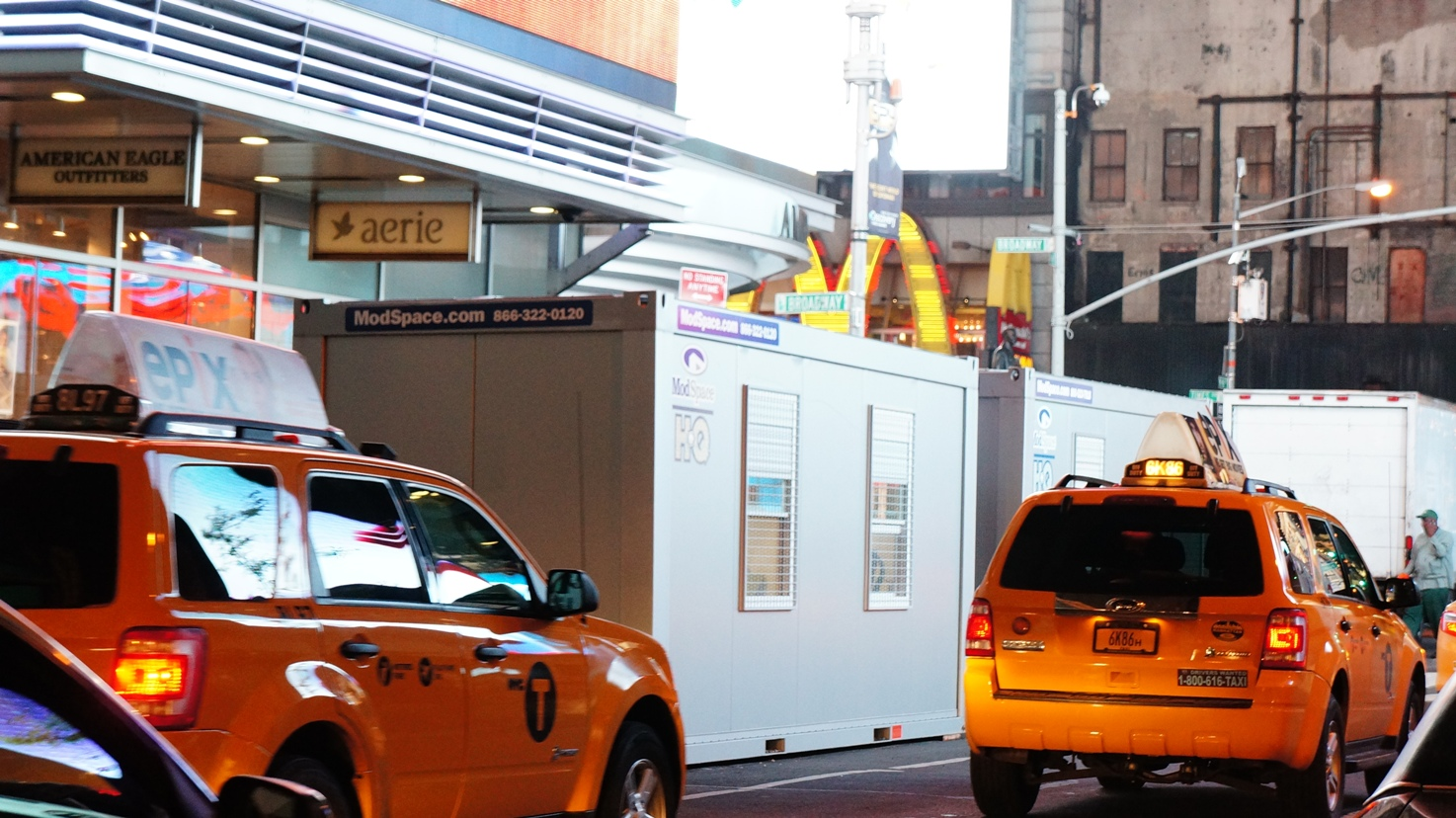 ground level mobile office in New York