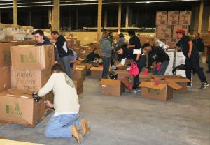 ModSpace Hurricane Sandy Relief Red Cross Volunteers