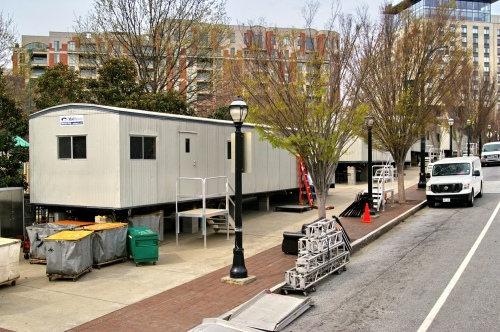 ModSpace mobile office trailers are at the Big Dance in Atlanta