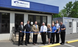 ModSpace Wilkes-Barre, PA branch office grand opening